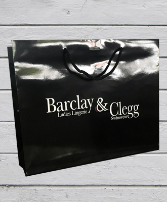 Barclay & Clegg in-store purchase