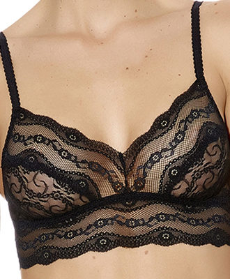 b.tempt'd Lace Kiss Bralette - Black