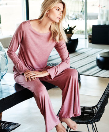 Sylvia Speidel Stephanie Long Sleeve Pyjama Set 55008