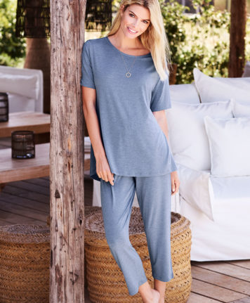 Sylvia Speidel Stephanie Short Sleeve Pyjama Set 55002